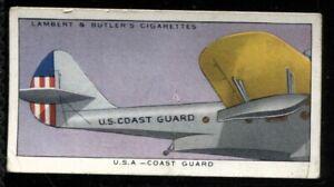 Lambert Butler, AEROPLANE MARKINGS, 1937, USA Coast Guard, #49