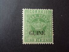 PORTUGUESE GUINEA 10 REIS 1885 CROWN TYPE SURCHARGED GUINE MNH