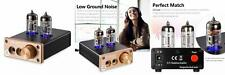 Nobsound NS-08E Vacuum Tube Headphone Amplifier Hi-Fi Valve Amp...