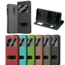 Cover for Nokia View Case Double Window Stand Wallet Book Flip