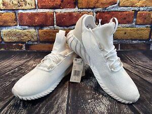 Adidas Originals Tubular Doom Sock BY3566 Men's Casual Shoes White Size 10.5 NIB