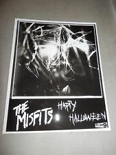 Misfits Halloween Set Promo Photo 8x10 Record Insert Plan 9