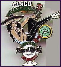 Hard Rock Hotel LAS VEGAS 2000 Cinco De Mayo PIN - Sexy Girl in Margarita Glass