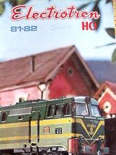 Catalogo ELECTROTREN 1981-82 in scala H0 - ENG DEU FRA ESP  [TR.3]