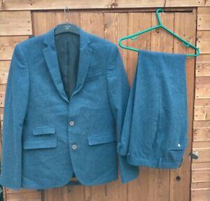 """ASOS Men's Two Piece Suit Jacket 38"""" Trousers 32"""""""
