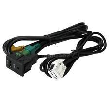 KKmoon USB AUX Audio Cable Switch Plug for VW Passat B6 B7 CC Touran POLO I7S8