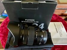 Fuji XF 10-24mm F4 OIS R Zoom lens - Caps,Hood,Box,Papers,Soft pouch included