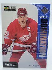 1997-98 Collector's Choice World Domination #W3 Steve Yzerman