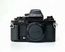 Canon F1n Pro 35mm Film Camera With AE Prism. Fully Working Rugged Workhorse