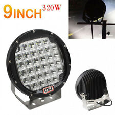 9INCH 320W Round CREE XPL LED Car SUV Offroad Work Driving Light Spotlight Lamp