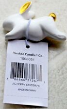 Yankee Candle HAPPY EASTER HOPPY EASTER BUNNY Jar Clinger Gold Ears and Tail