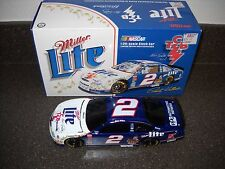 New Rare Rusty Wallace #2 Miller Elvis 1998 1/24 Action Diecast Bank