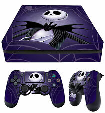 PS4 Slim Aderente NIGHTMARE BEFORE CHRISTMAS mm + Tappetino decalcomanie Vinile