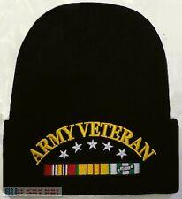 U.S. ARMY MILITARY VIET NAM VIETNAM VETERAN VET WINTER KNIT BEANIE WATCH CAP HAT