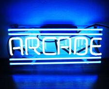 "New Arcade Game Room Bar Pub Wall Decor Acrylic Neon Light Sign 14"""