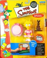 SERIES 9 SUNDAY BEST LISA THE SIMPSONS WOS ACTION FIGURE PLAYMATES  MIP