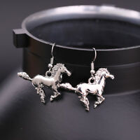 Fashion Horse Pony Animal Drop Earring Gift Jewelry for Equestrian Cowgirl Women
