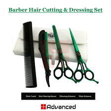Professional Barber Hair Dressing Complete Kit Salon Cutting Trimming Shears New