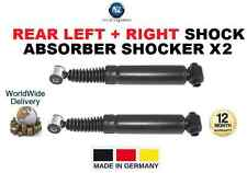 FOR PEUGEOT 206 ESTATE 2002-ON REAR LEFT + RIGHT SHOCK ABSORBER SHOCKER X2