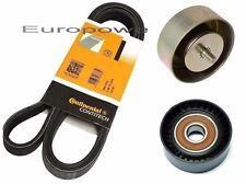 BMW E60 E61 520 525 530 d V-ribbed belt + tensioning roller + deflection pulley