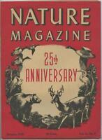 January 1948 The Nature Magazine American Nature Association 25th Anniversary