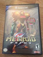 Metroid Prime Nintendo GameCube Game Cib Works NG6
