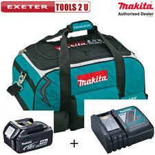 Makita LXT400 Heavy Duty Tool Bag  831278-2, Battery Charger + 18v 4ah Battery