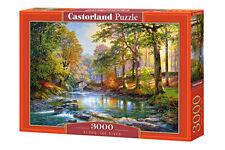 Castorland  C-300532-2 - Along the River, Puzzle 3000 Teile - Neu