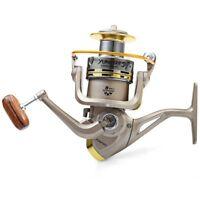 YUMOSHI 8 BB Fish ratio 5.1: 1 Spinning Fishing Reel Crank Handle Carp Steeri M6