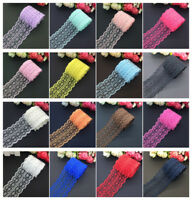 10 yards 45mm wide bilateral embroidery crafts net lace ribbon