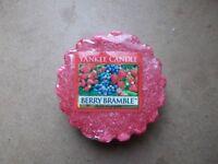 Yankee Candle Usa Rare Berry Bramble Wax Tart .