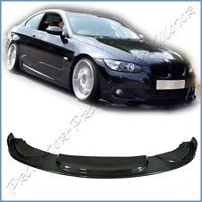 HM Type Carbon Fiber Front Lip For 06-09 BMW Pre-Facelift E92 E93 M Sport Bumper
