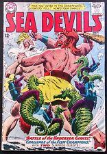 SEA DEVILS 1963 #14 VG/FN CLEAN BOOK,HERCULES VERSUS NEPTUNE!!!