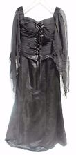 NEW Jovani Black GOTHIC Corset Evening Long Gown Prom Formal #81120