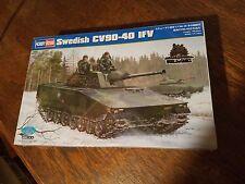 Hobbyboss 1/35 Model Military Kit Swedish CV90-40 IFV Tank 82474
