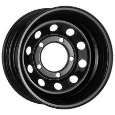 "16"" x 8"" Tuff Torque Modular Steel Black ET-35 Steel Wheel LAND ROVER Discovery"