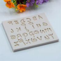 DIY Letter Silicone Message Board Cake Soap Fondant Mold Decorating Mould MP