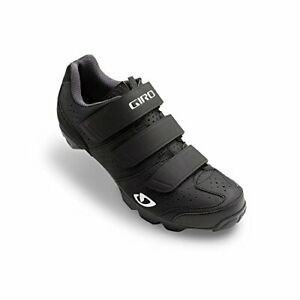 Giro Riela R Womens Mountain Cycling Shoe, Black/Charcoal, 7068409
