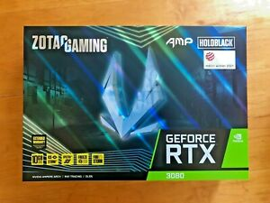 ZOTAC Gaming GeForce RTX 3080 AMP Holo LHR (ZT-A30800F-10PLHR) - Sealed, New