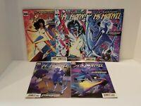 Magnificent Ms. Marvel #7 8 9 10 11 (VF/NM or 9.0) - 2nd Print Set - Stormranger