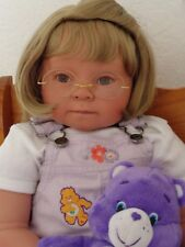 "Reborn 22""Toddler Girl Doll Cassie"" -Down Syndrome Tribute"