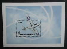 The Gambia (1990) RAF Planes in WWII / Aviation / Spitfire  - Mint (MNH)