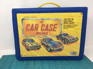 Vintage 48 Car Case # 20200  Tara Toy Case  Hot Wheels Matchbox Die Cast Holder