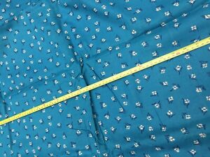"""Peter Pan Inc 42"""" Wide Cotton Fabric Remnant 2 Yards Length Joanne 90s"""