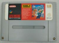 Mario Is Missing SNES Super NES Nintendo VGC UK