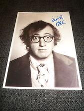 WOODY ALLEN signed Autogramm auf 15x20 cm Foto InPerson LOOK