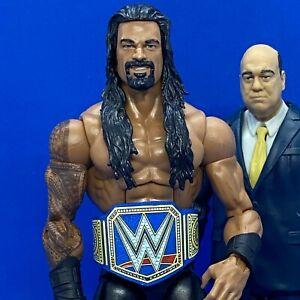WWE Custom Wrestling Belt - Mattel - Blue Universal