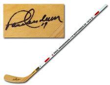 Paul Henderson Team Canada Autographed 1972 Summit Series Dated Hockey Stick