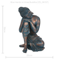 Buddha Hands on Knee Ornament Statue Decoration
