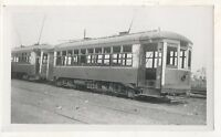 NEW YORK AND QUEENS COUNTY RAILWAY Trolley New York City Manhattan? 1937 Photo 3